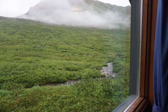 Hatcher Pass Lodge: View from Cabin#6