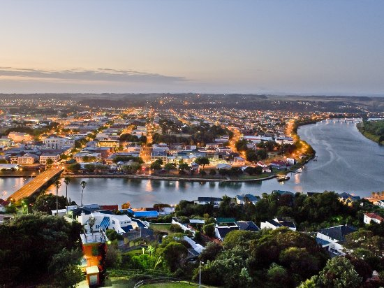 Night Scene From Whanganui, New Zealand