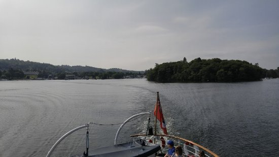 Bowness-on-Windermere, UK: a fine day for boating