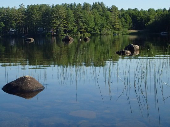 Wilton, ME: easily accessible by kayak