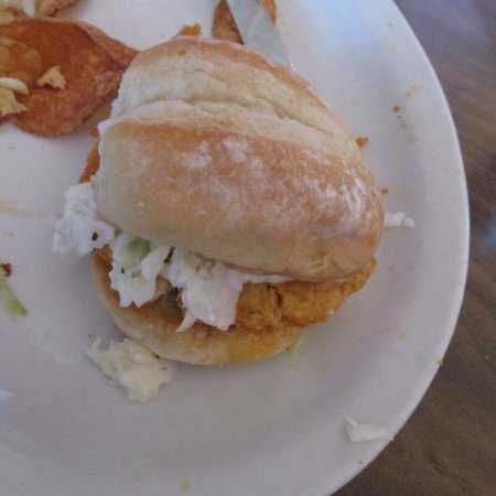 Story City, IA: One of the crab sliders
