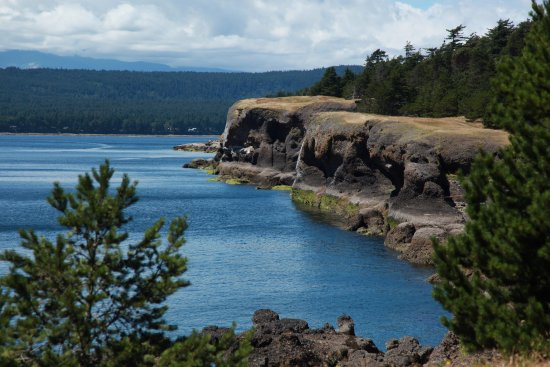 Hornby Island, Canada : Beautiful coastal views