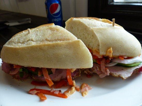 New Ross, Canada: Vietnamese sub sandwich