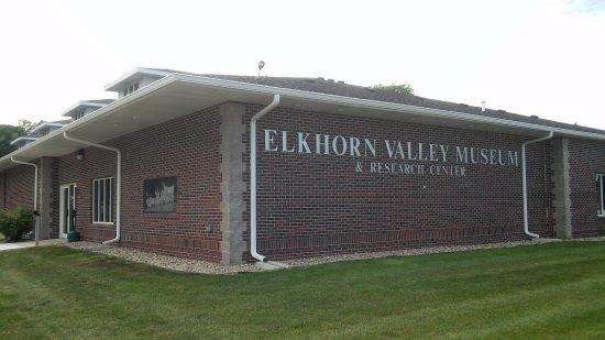 Norfolk, NE: Elkhorn Valley Museum Entrance