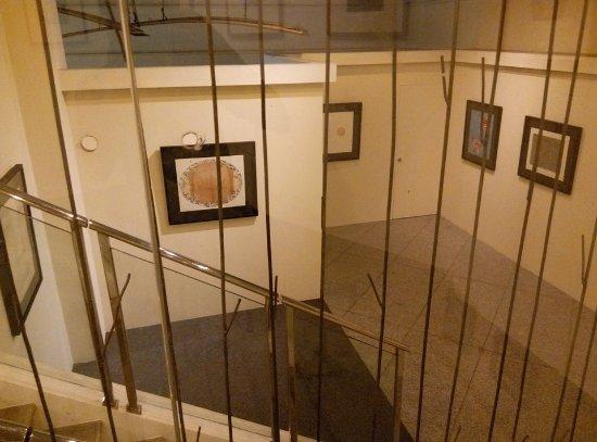 Yuchengco Museum: Modern painting (mixed media)
