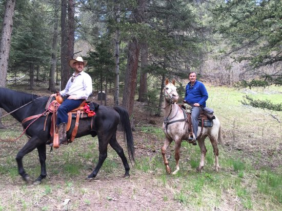 Tererro, NM: Horses for every riding level