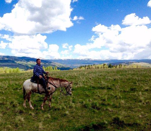 Tererro, Nuevo México: Top of Grass Mountain