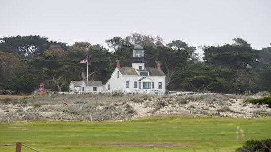 Point Pinos Lighthouse: Back of the lighthouse