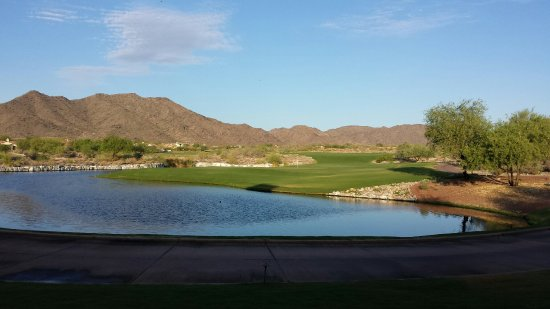 Buckeye, AZ: 18th green