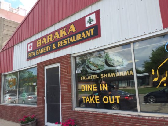 Delicious falafel review of baraka pita bakery winnipeg for Pool spa show winnipeg