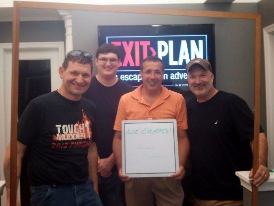 EXIT Plan - An Escape Room Adventure