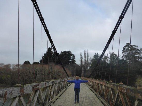 Invercargill, Nieuw-Zeeland: Clifden Suspension Bridge