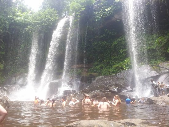 Angkor Best Driver: trip to water fall at kulen mountain