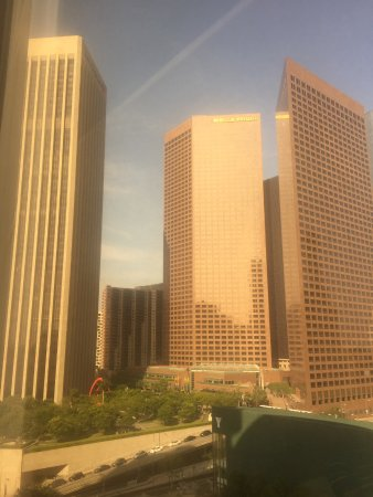 The Westin Bonaventure Hotel & Suites: View from our room