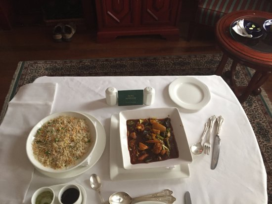 The Oberoi Cecil, Shimla: In Room Dining