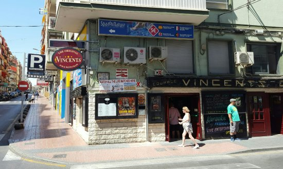 Vincents Corner Pubs Benidorm