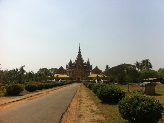 Bago, Myanmar: Kanbawzathardi Palace ( The Second Myanmar Empire Founded by King BaYintNaung )