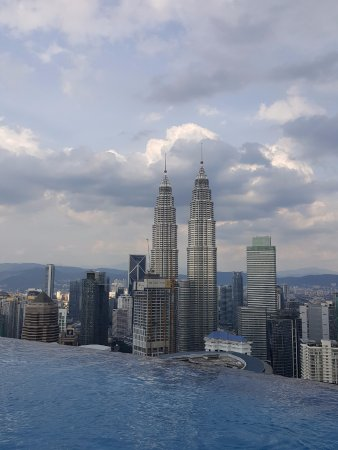 Rooftop swimming pool view picture of the face suites - Best hotel swimming pool in kuala lumpur ...
