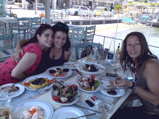 Melissos : Having a great lunch with friends