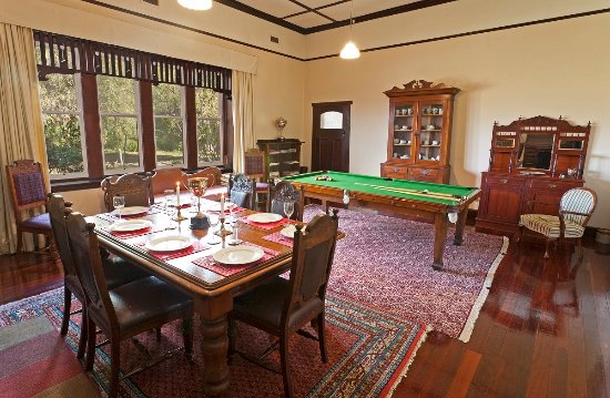 Carisbrook, Australia: Homestead has the grand dining room.