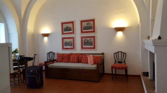 San Teodoro Nuovo: Spacious living room/kitchen