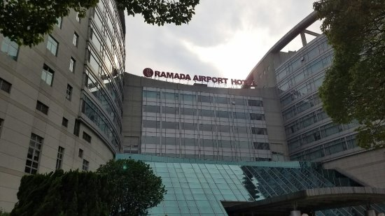Ramada Plaza Shanghai Pudong Airport: Esterno