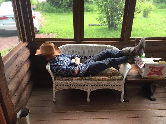 Jelm, WY: Resting up