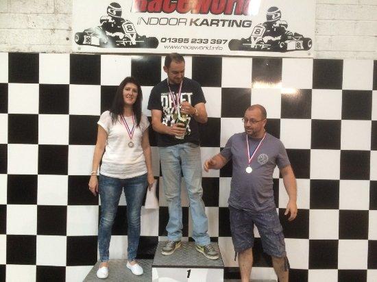 Raceworld Ltd: Yes, a girl came 2nd