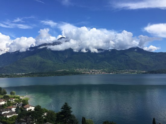 Trezzone, Italie : lake view
