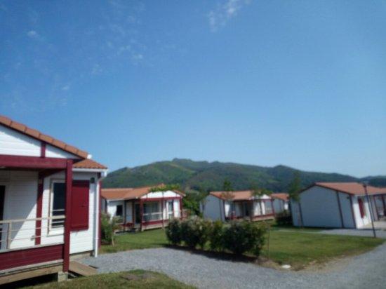 Saint-Martin-d'Arrossa, Frankrike: Camping Larlapean