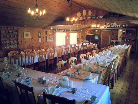 Tingvatn, Norvège : Restaurant - wedding at Heddan Gard