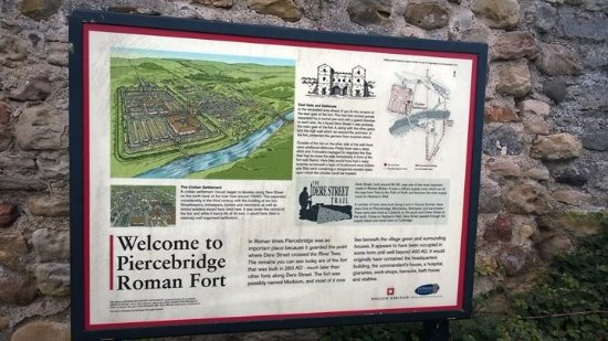 ‪‪Piercebridge‬, UK: Piercebridge Roman fort‬