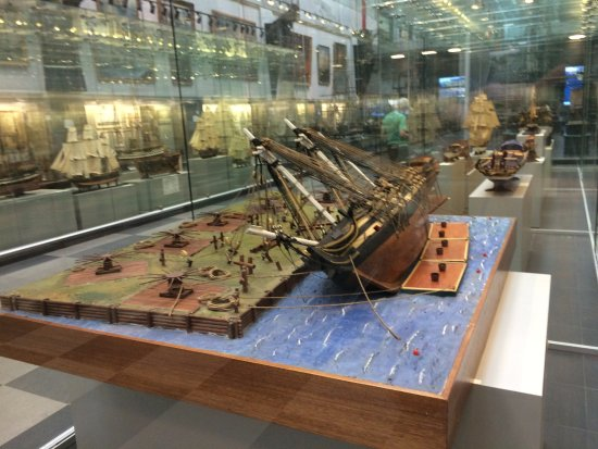 Naval History Museum at the Admiral Makarov State Maritime Academy