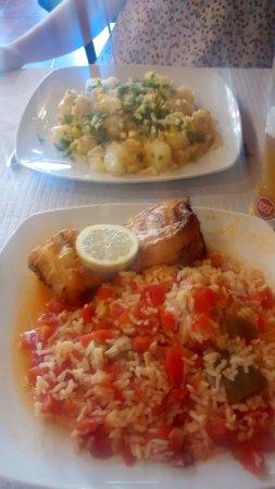 Restaurante Romao: Bacalao y pez espada!