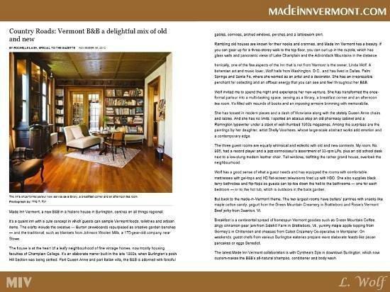 Pet Friendly Hotels Burlington Made Inn Vermont B