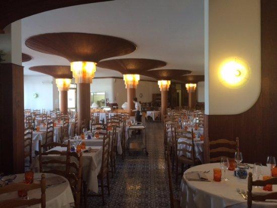 Hotel Alexander: Místnost pro servírované večeře