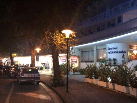 Hotel Alexander: Večerní hotel