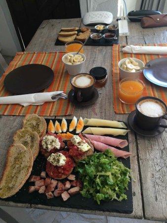 Sougia, Grekland: Breakfast