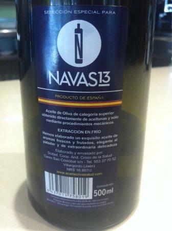 NAVAS 13: Aceite