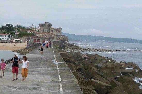 Foto de digue du port de socoa ciboure ziburu digue du - Fort de socoa ...