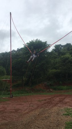 Yelagiri, Индия: Human Sling Shot! Must try experience