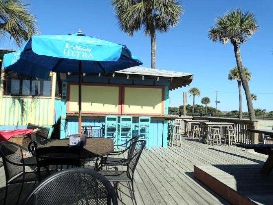 North Beach Bar & Grill : back deck