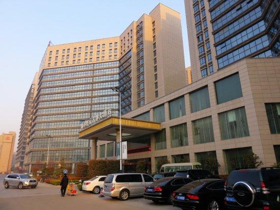 Outside view New Century Grand Hotel Xinxiang