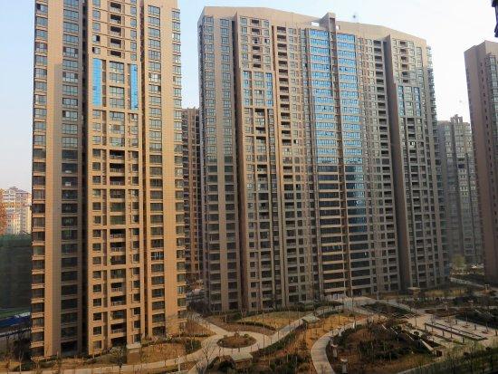 Xinxiang, China: View fom room #819