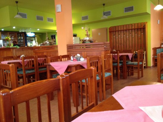 Restaurace Zubrina: interno del locale