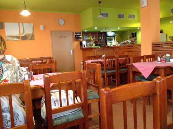 Restaurace Zubrina: interno