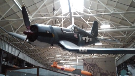 National Museum of the United States Navy : WW II Corsair