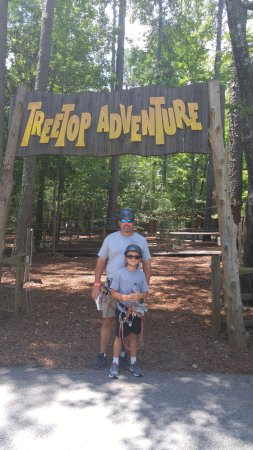 Pine Mountain, Geórgia: TreeTop Adventures