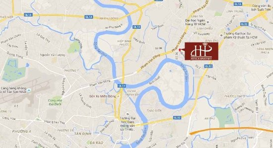 Hoa Phat Hotel & Apartment : map