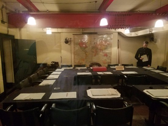 Cabinet war rooms review cabinets matttroy - Churchill war cabinet rooms ...